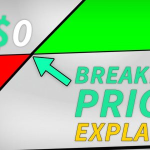 How to Get the BREAKEVEN PRICE for ANY Options Strategy (Options Trading Tutorial)