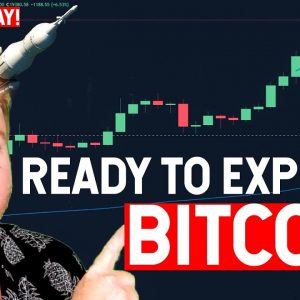 BITCOIN READY TO EXPLODE? 50K???? GIVEAWAY!