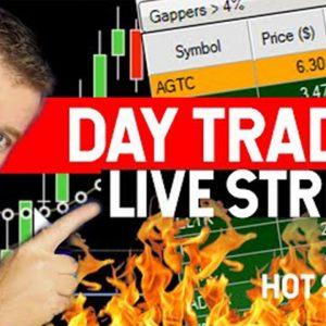 DAY TRADING LIVE! FRESH CASH FRIDAY! STOCK MARKET