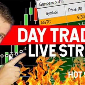 DAY TRADING LIVE! ITS MY BIRTHDAY!