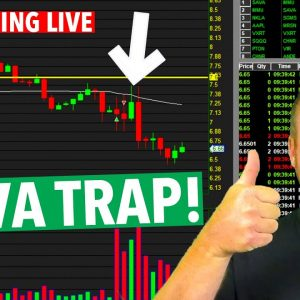 DAY TRADING LIVE $SAVA NAILED IT!  [CALLING THE TRAP]