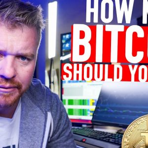 HOW MUCH BITCOIN SHOULD YOU BUY???? 300K IN 2021?