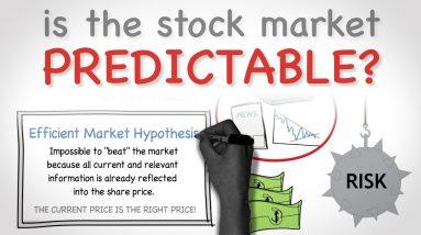 IS THE STOCK MARKET PREDICTABLE? | Efficient Market Hypothesis