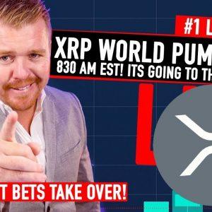 LIVE XRP WORLD PUMP EVENT! GAMESTOP MOVE? TRADING!