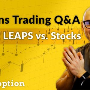 Buying LEAPS vs. Stocks, Greek Management & Position Sizing (Options Trading Q&A)