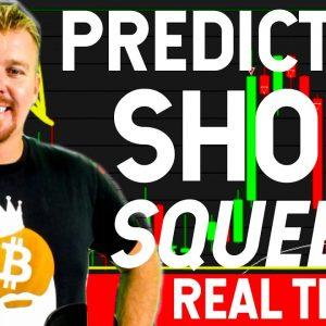 PREDICTING SHORT SQUEEZE! [REAL TRADE LIVE]