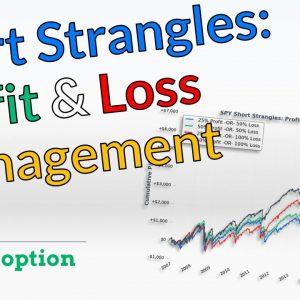 Short Strangle Management | Taking Profits & Losses