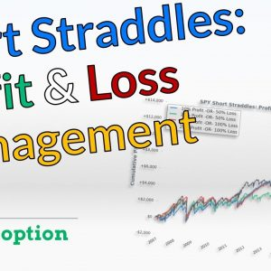 Short Straddle Management: Taking Profits AND Losses (Options Trading Research)