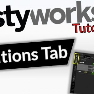 tastyworks Tutorials | The Positions Tab (Overview & Key Features)