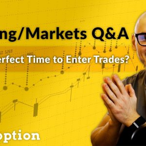 Investing/Trading Q&A (My Thoughts on Bitcoin, Timing Trade Entries, Using Options Order Flow Data)