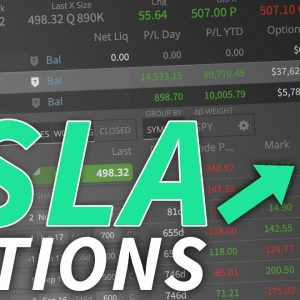 How I'm Trading TSLA Options (Position Breakdown, Risk-Free $10,000 Call Spread, Management)