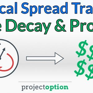 Vertical Spread Trading: Time Decay & Profitability