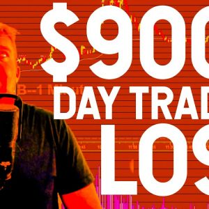 WORST DAY TRADING DAY EVER.... [9,000 DOLLAR LOSS]