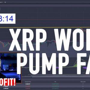 XRP WORLD PUMP FAIL.... I MADE $2000 TRADING IT!