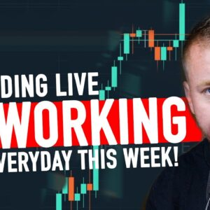 DAY TRADING ENDING THE WEEK GREEN! ITS WORKING!