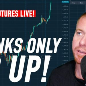 Day Trading Futures LIVE! 4/5/21 STONKS ONLY GO UP!