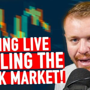 DAY TRADING LIVE! BATTLING THE STOCK MARKET ALL TIME HIGH!