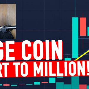 DOGE COIN MADNESS! CHARTING THIS INSANITY!
