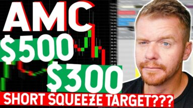 AMC Stock Short Squeeze Target Price??? $500! $300!