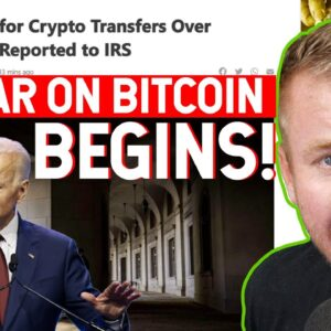 BIDEN WANTS YOUR CRYPTO! IRS REPORTING CRYPTO CURRENCY!
