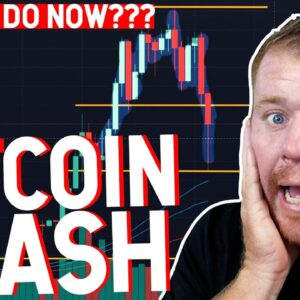 BITCOIN CRASHING! DOGE COIN CRASH! WHAT TO DO NOW??