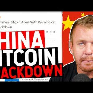 CHINA HATES BITCOIN! HEDGE FUNDS BUYING BITCOIN???