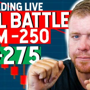 DAY TRADING BATTLE! BIG RED TO BIG GREEN... LIVE!