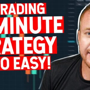 LIVE TRADING 15 MINUTE STRATEGY! ITS TOO EASY!