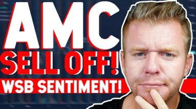 AMC SELL OFF! How to Find Wall Street Bets STOCK Sentiment!