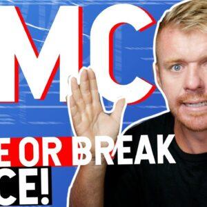 AMC MAKE OR BREAK PRICE ON THE CHART!