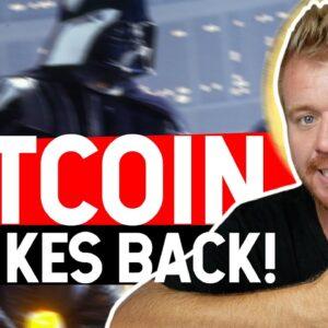 Bitcoin Strikes Back! $34.6K KEY AREA TO WATCH!