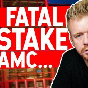 MY FATAL MISTAKE TRADING AMC...