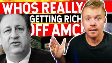 Who's Really Getting Rich Off AMC Stock? SHORT SQUEEZE FUGAZI...