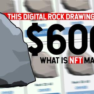 $600K Dollar Digital Rock! Should You Buy One? NFT