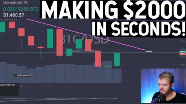 MAKING $2000 IN SECONDS DAY TRADING!