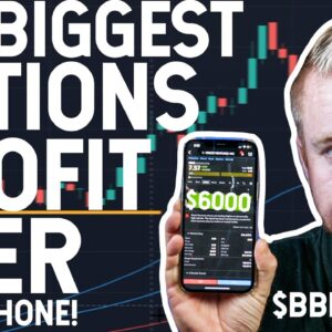 MY BIGGEST OPTIONS TRADE EVER! $BBIG
