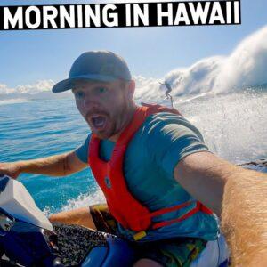 Sunday Morning In Hawaii... NEW MTB DEATH WISH!