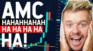 AMC STOCK WOW! I'm Dead ROFL...