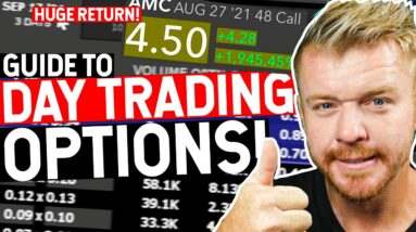 Day Trading Options! HOW TO! 2,000% GAINS?
