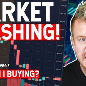 Stock Market Crashing! What I'm BUYING!