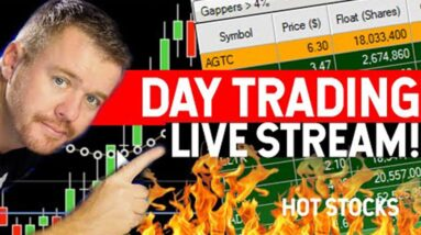 STOCK MARKET DAY TRADING LIVE SHOW!