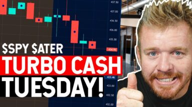 TURBO CASH TUESDAY! $ATER CALLS PRINTING!