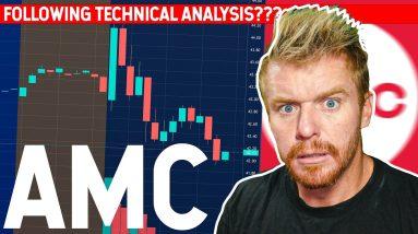 AMC Follows Technical Analysis???? TREND LINE!