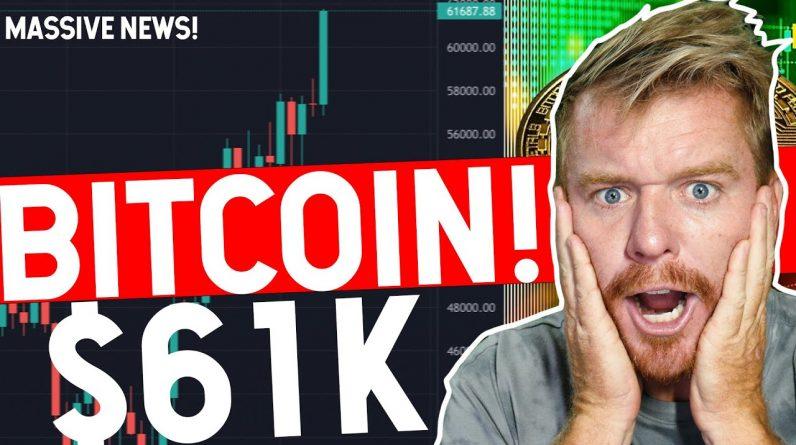 MASSIVE NEWS! BITCOIN $61K BTC ETF!