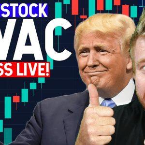 TRUMP STOCK DWAC LIVE! MADNESS!